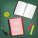Back to school supplies. Stock Photo