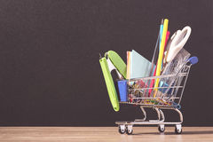 Back to school supplies concept Stock Photography
