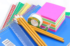 Back to school supplies no.5. School Supplies Royalty Free Stock Photography