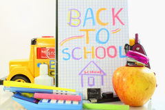 Back to school supply Stock Images