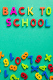 Back to school symbol Royalty Free Stock Photo