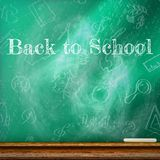 Back to school template design. plus EPS10 Royalty Free Stock Photography