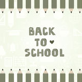 Back To School Template Stock Photos