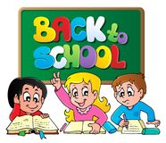 Back to school thematic image  Royalty Free Stock Photography