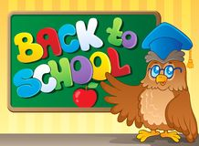 Back to school thematic image 3 Royalty Free Stock Image