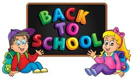 Back to school thematic image 8 Stock Photography