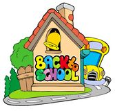 Back to school theme 2 Stock Images