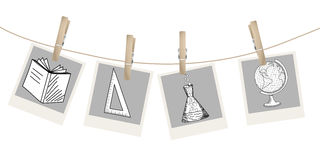 Back to school theme Stock Images