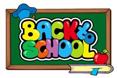 Back to school theme 4 Stock Photography