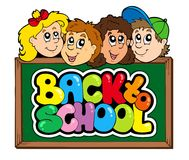 Back to school theme 5 Stock Photo