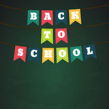 Back to school theme objects eps 10 Stock Photo