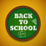 Back to school theme objects eps 10 Royalty Free Stock Photography