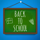 Back to school theme objects eps 10 Royalty Free Stock Photos