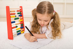 Back to school theme - refreshing the knowledge Royalty Free Stock Photo