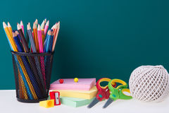 Back to school theme Royalty Free Stock Photo