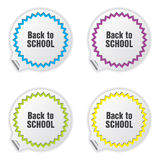 Back to school tickets Stock Image