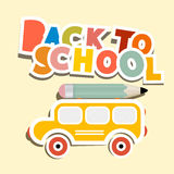 Back to School Title Royalty Free Stock Photos