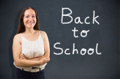 Back to school to learn Stock Photos
