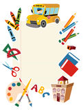 Back to school tools and supplies. Stock Photos