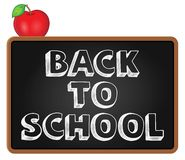 Back to school topic 5 Royalty Free Stock Images