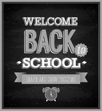 Back To School typographic design. Stock Photo