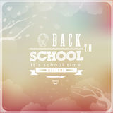 Back to School Typographic Elements Stock Photos