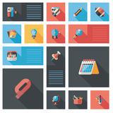 Back to school ui bakcground,eps10. Vector illustration file royalty free illustration