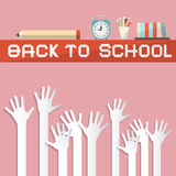 Back To School Vector Royalty Free Stock Photography