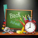 Back to school - vector background Royalty Free Stock Images