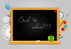 Back to School vector Background Stock Photos