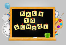 Back to School vector Background Royalty Free Stock Photo