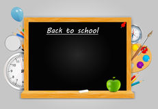 Back to School vector Background Royalty Free Stock Image