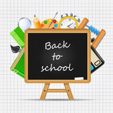Back to School vector Background Royalty Free Stock Images