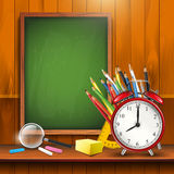 Back to school - vector background Royalty Free Stock Photos
