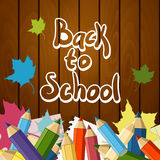Back to School Vector Design element Royalty Free Stock Photo