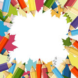Back to School Vector Design element Stock Images