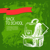 Back to school vector design Royalty Free Stock Photo