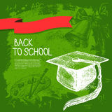 Back to school vector design Stock Photos