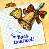 Back to school vector design Stock Photography