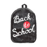 Back to school vector design. Hand drawn vintage Royalty Free Stock Photography
