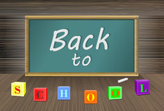Back to school, vector Eps10 image. Back to school, vector Eps10 image Royalty Free Stock Photos