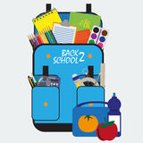 Back to school. vector format Royalty Free Stock Images