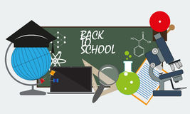 Back to school. vector format Royalty Free Stock Photos