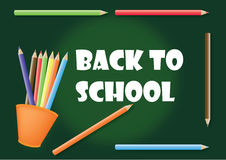 Back to school. A vector illustration of back to school background Royalty Free Stock Image