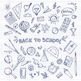 Back to school. vector illustration. Royalty Free Stock Images