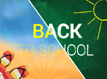Back to school vector illustration Stock Photography