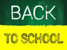 Back to school vector illustration Royalty Free Stock Image