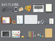 Back to school vector illustration Royalty Free Stock Photography