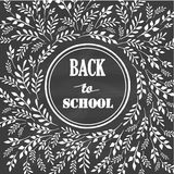 Back to School Vector Illustration Royalty Free Stock Photo