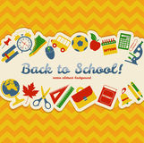 Back to school! Vector Illustration. Stock Image